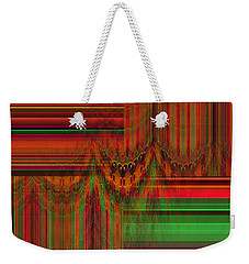Behind The Drapes Weekender Tote Bag by Thibault Toussaint