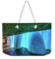 Behind The Falls Minnehaha Falls Minneapolis Minnesota Winter Morning II Weekender Tote Bag