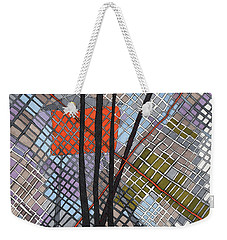 Behind The Fence Weekender Tote Bag by Sandra Church