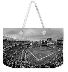Behind The Plate Yankee Stadium  Weekender Tote Bag