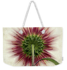Behind The Sunflower Weekender Tote Bag