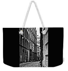 Weekender Tote Bag featuring the photograph Behind The Walls  by Elf Evans
