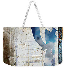 Behind The Window Weekender Tote Bag by Michal Boubin
