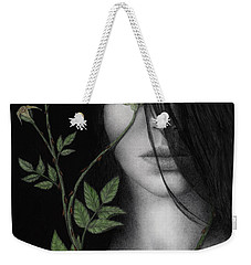 Behind What Beholds The Eye Weekender Tote Bag by Pat Erickson