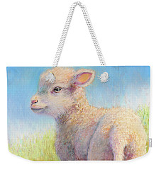 Behold The Lamb Weekender Tote Bag