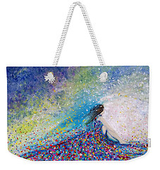 Being A Woman - #5 In A Daydream Weekender Tote Bag by Kume Bryant