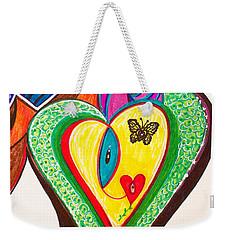 Being Alive - Iv Weekender Tote Bag