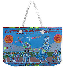 Being For The Benefit Of Mr. Kite Weekender Tote Bag