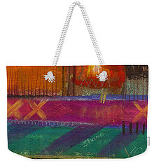 Being In Love Weekender Tote Bag by Angela L Walker