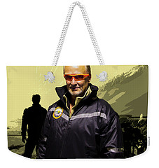 Weekender Tote Bag featuring the photograph Being In The Movie IIi by Al Bourassa