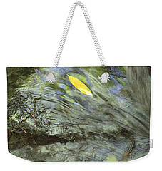 Weekender Tote Bag featuring the photograph Being Still by Marie Neder