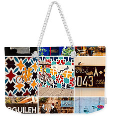 Beirut Colorful Life Weekender Tote Bag