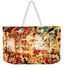 Beirut Funky Wall Art  Weekender Tote Bag by Funkpix Photo Hunter
