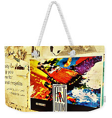 Beirut Wall  Weekender Tote Bag by Funkpix Photo Hunter