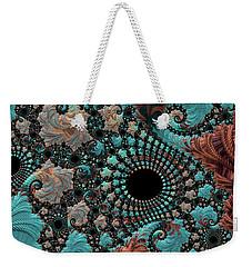 Bejeweled Fractal Weekender Tote Bag