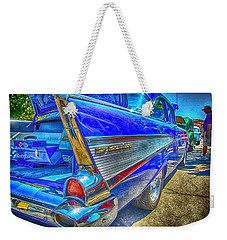 Bel Air Blue Weekender Tote Bag
