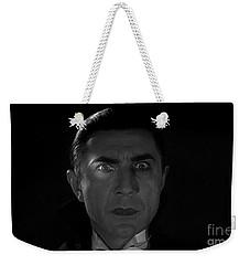 Bela Lugosi  Dracula 1931 And His Piercing Eyes Weekender Tote Bag
