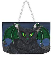 Bela Vampire Cat Weekender Tote Bag
