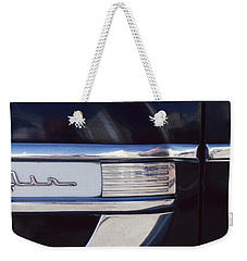 Weekender Tote Bag featuring the photograph Belair by Laurie Stewart