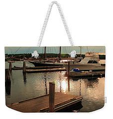 Belfast Harbor Weekender Tote Bag