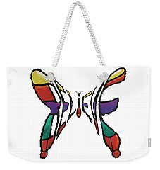 Believe-butterfly Weekender Tote Bag
