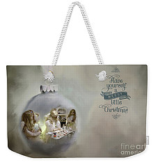 Believe In The Magic Of Christmas Weekender Tote Bag
