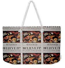 Believe It Weekender Tote Bag by Frozen in Time Fine Art Photography