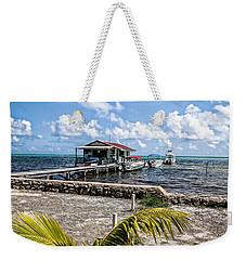 Belizean Marina Weekender Tote Bag