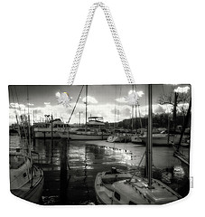 Bell Haven Docks Weekender Tote Bag by Paul Seymour