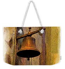 Bell In The Old Cathedral Of Cuenca, Ecuador Weekender Tote Bag