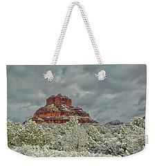 Bell In Winter Weekender Tote Bag