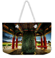 Weekender Tote Bag featuring the photograph Bell Of Friendship 2 by Joseph Hollingsworth