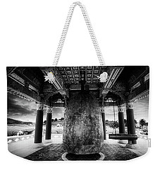 Weekender Tote Bag featuring the photograph Bell Of Friendship B W  by Joseph Hollingsworth