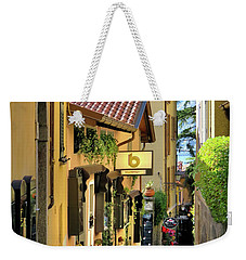 Bell Of The Lake Weekender Tote Bag by Jennie Breeze