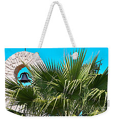 Weekender Tote Bag featuring the photograph Bell by Ray Shrewsberry