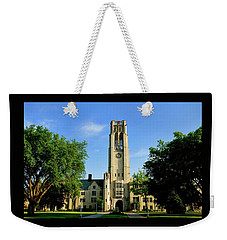 Bell Tower At The University Of Toledo Weekender Tote Bag