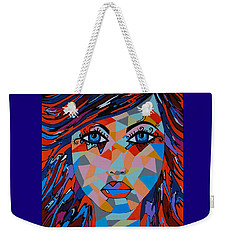 Weekender Tote Bag featuring the painting Bella by Kathleen Sartoris