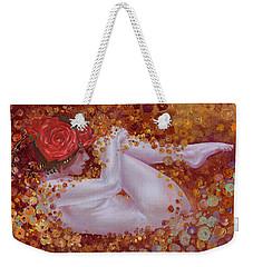 Bella Rose Weekender Tote Bag