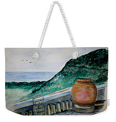 Bella Vista, Cumae Italy Weekender Tote Bag by Clyde J Kell