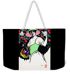 Belladonna And Apples Weekender Tote Bag