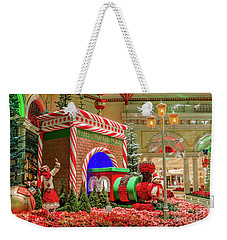 Bellagio Christmas Train Decorations And Ornaments Weekender Tote Bag