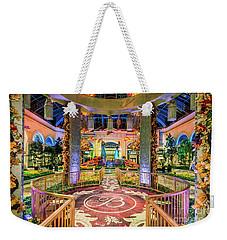 Bellagio Conservatory Fall Peacock Display Gazebo View 2017 Weekender Tote Bag