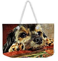 Bella's Thanksgiving Weekender Tote Bag