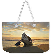 Weekender Tote Bag featuring the photograph Belle At Sunrise by Barbara Ann Bell