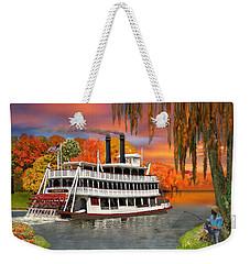 Belle Of The Bayou Weekender Tote Bag