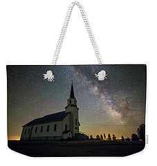 Weekender Tote Bag featuring the photograph Belleview by Aaron J Groen