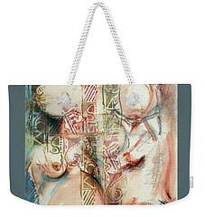 Inner Outer, Belly Bound Weekender Tote Bag