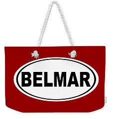 Weekender Tote Bag featuring the photograph Belmar New Jersey Home Pride by Keith Webber Jr