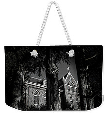 Weekender Tote Bag featuring the photograph Belmont Abbey by Jessica Brawley