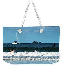 Belongil Beach Weekender Tote Bag